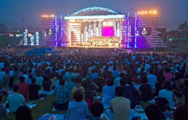 Miles de ciudadanos de ambas coreas han asistido a los conciertos de la West Eastern Divan