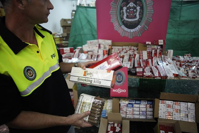 4.200 cajetillas de tabaco han sido intervenidas por la Policía Local durante el mes de agosto en Sevilla
