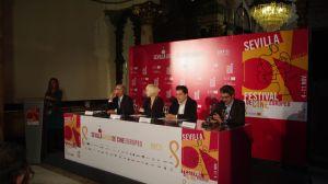 Álvarez Pastor durante la presentación de la película/angelespinola