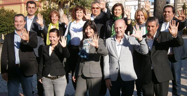 Pilar González ha respaldado hoy su lista por Cádiz/SA