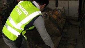 Los objetos robados habían sido colocados en chatarrerías/SA