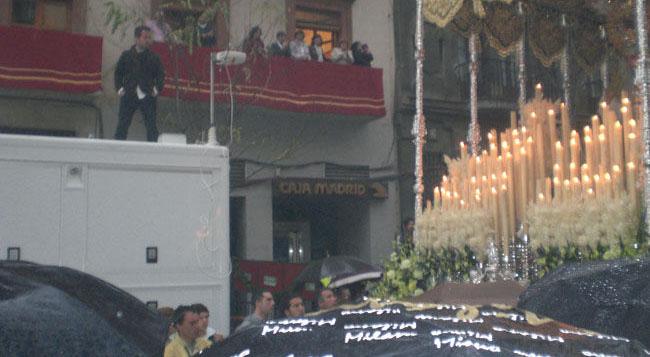 La Virgen del Rocío de la Redención, camino de La Anunciación/Ángel Espínola