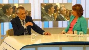 Griñán ha presidido hoy su primer Consejo de Gobierno tras la toma de posesión/SA