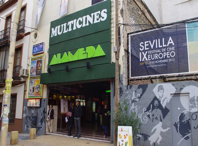 El Cine Alameda es una de las sedes más especiales del SEFF'12/Ángel Espínola