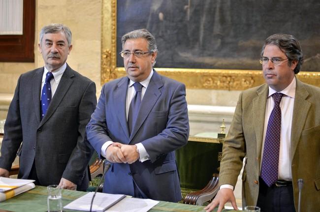 El equipo de Gobierno estima un impacto económico durante la Feria que rondaría los 675 millones de euros./ Prensa PP