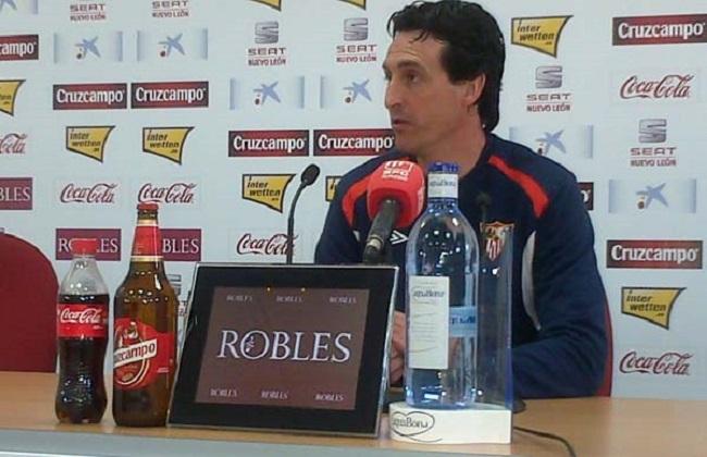 Unai Emery es ambicioso en este final de temporada / SEVILLA F.C.