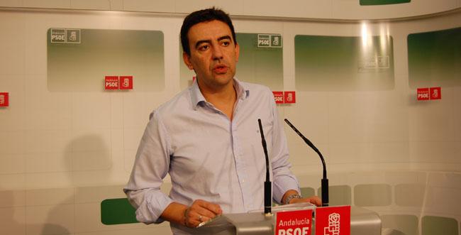 """El portavoz socialista, Mario Jiménez, considera que se confunden """"estrategias políticas"""" con un proceso judicial en el caso de los ERE fraudulentos de la Junta / Sevilla Actualidad"""