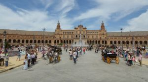 enganches-caballos-sevilla-plaza-espana