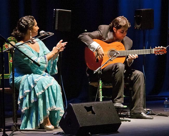 Manuel Valencia y su grupo flamenco 3