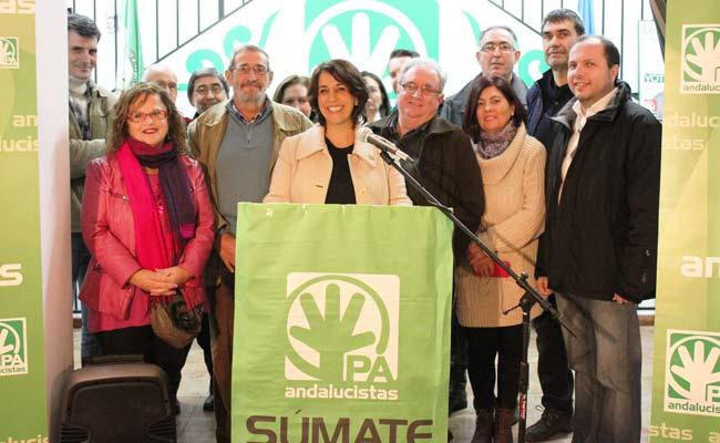 Aquino, elegida por unanimidad candidata del PA a la Alcaldía de Alcalá de Guadaíra