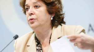 Carmen Castreño esta mañana en rueda de prensa durante la presentación/ SA