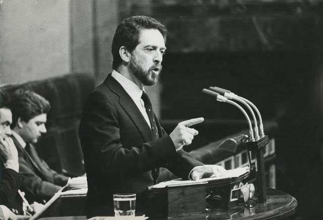 Alejandro Rojas-Marcos en el Congreso de los Diputados