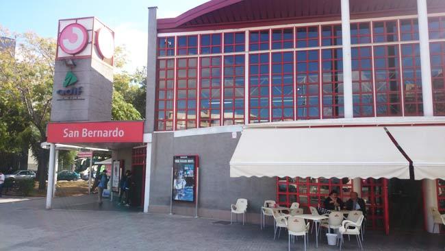 Imagen actual de la Estación de San Bernardo/ María Jesús López