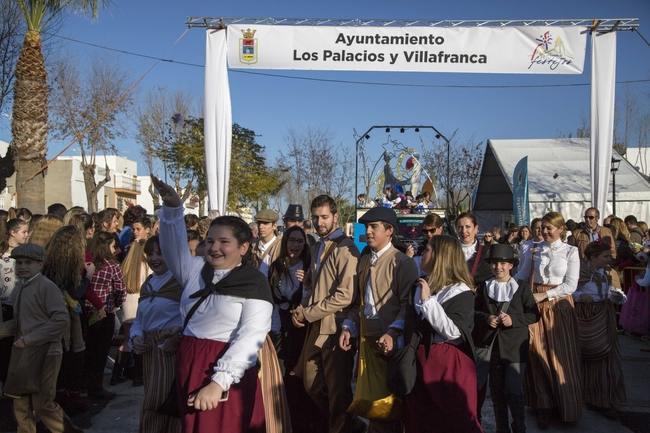 Cabalgata RRMM 17 Los Palacios y Vfranca