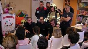 visita-bomberos-hospital-valme