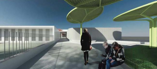 Proyecto nuevo colegio olivares