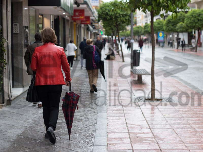 Día de lluvia en Sevilla