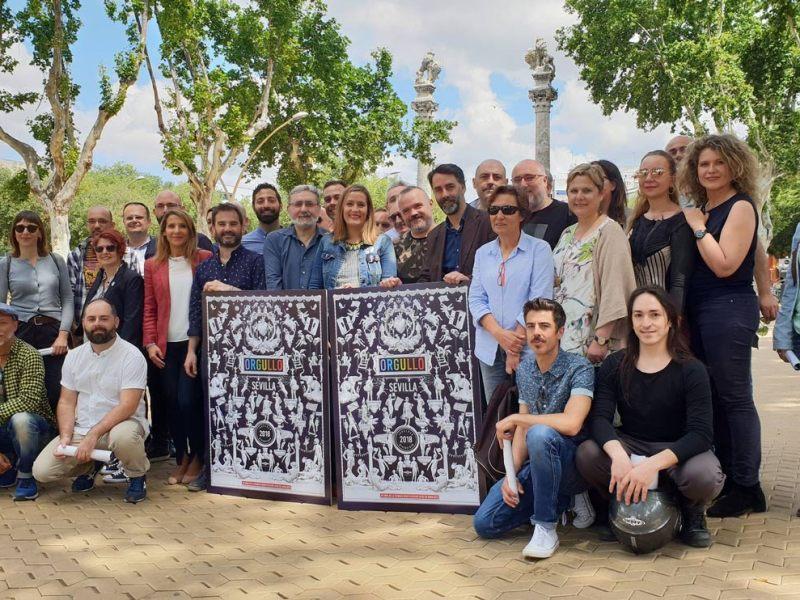Presentación de las actividades y del cartel del Mes de la Diversidad Sexual /Ayto. Sevilla
