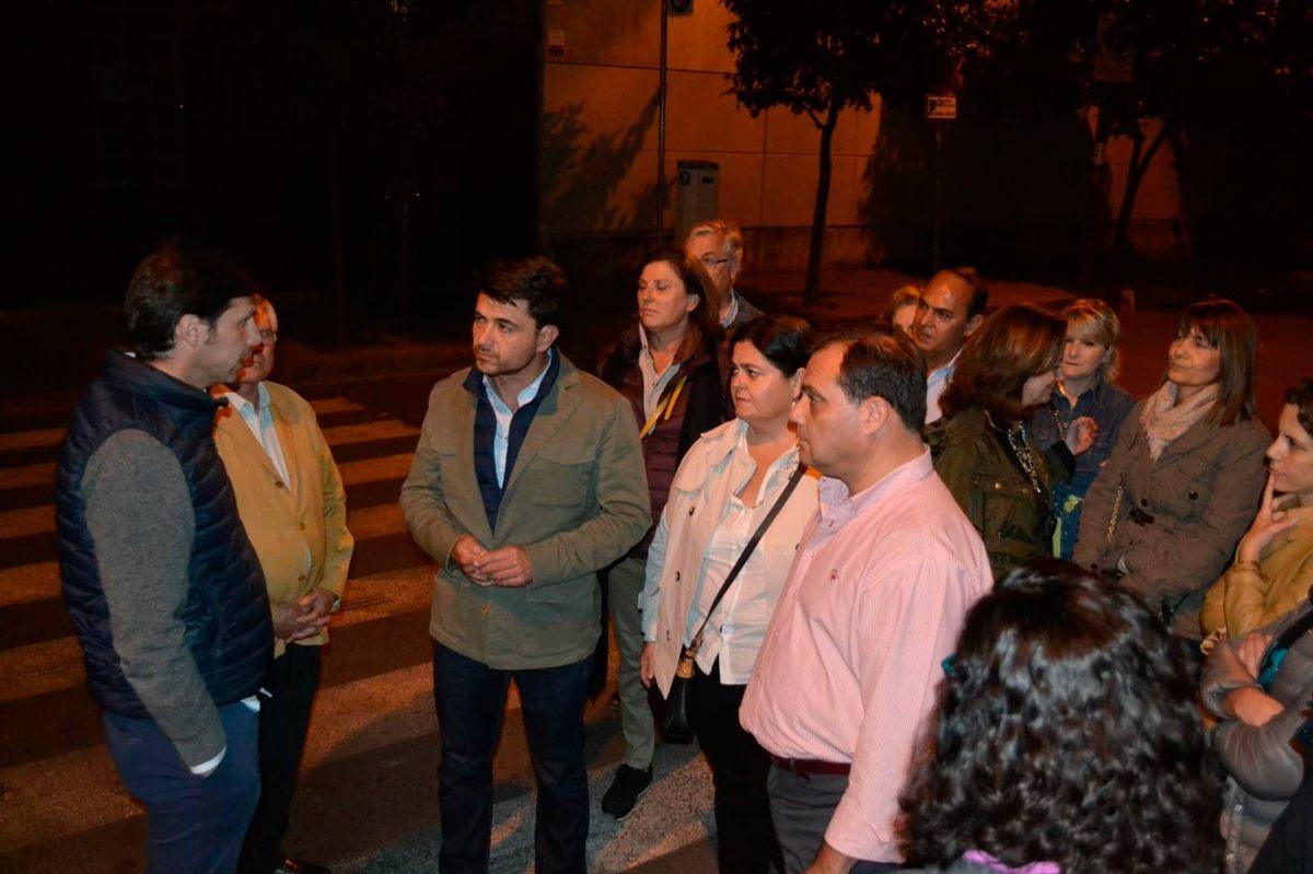 Beltrán Pérez visita la botellona de Viapol /PP