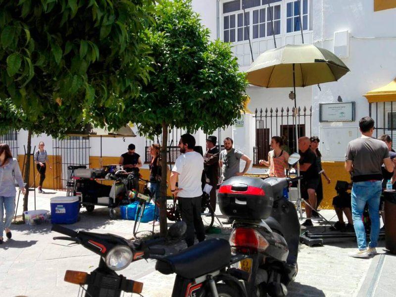 Rodaje de La Otra Mirada en Utrera/ SA