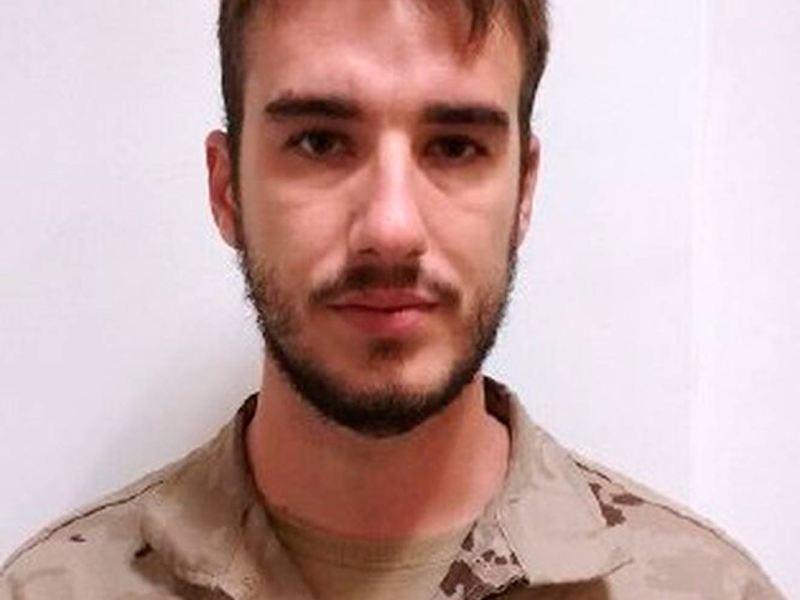 El soldado fallecido /@ZOIDOJI