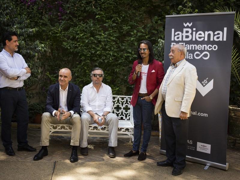 Presentación antesala de la Bienal en Dueñas /Ayto. Sevilla