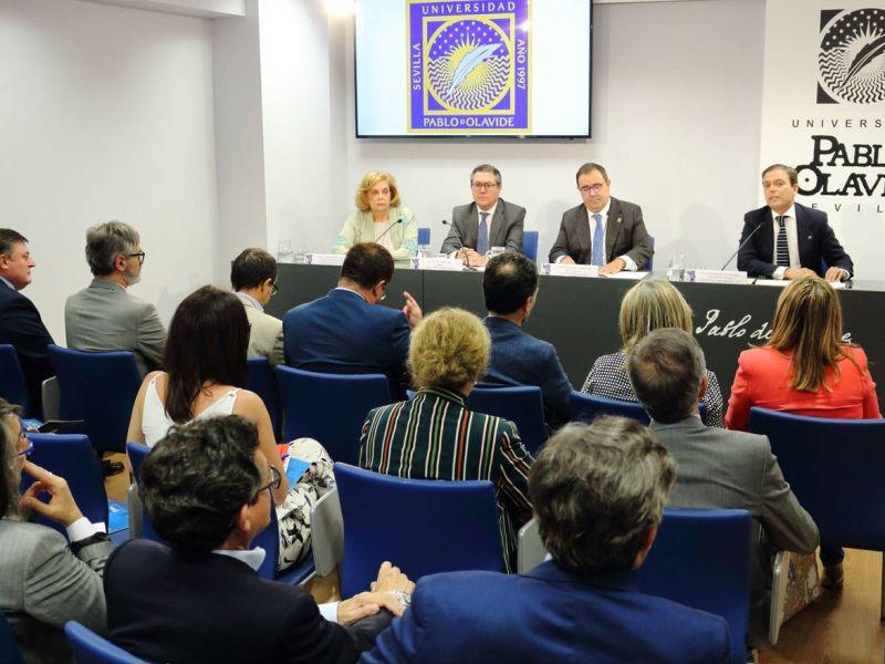 Inauguración de la nueva sede de la Olavide en el centro / Olavide