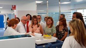 Susana Díaz inaugura los nuevos laboratorios /HospitalUVRocio