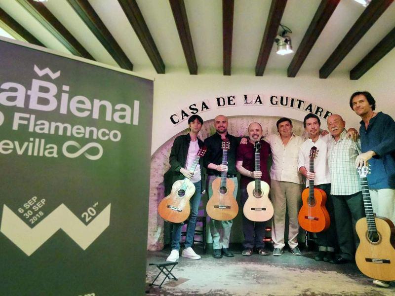 Presentación del evento en la Casa de la Guitarra /Ayto. Sevilla