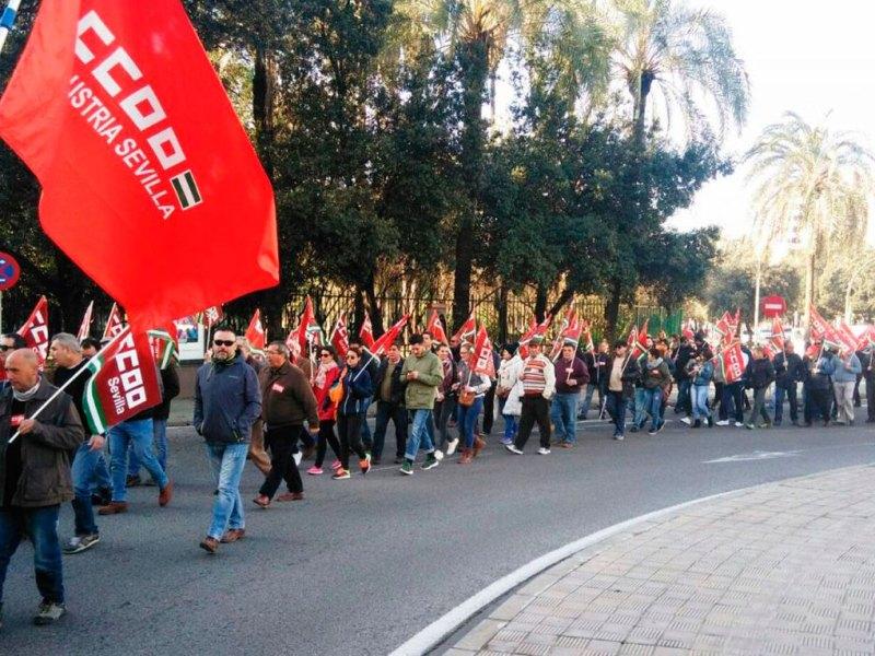 Protestas jornaleros campo /CCOO