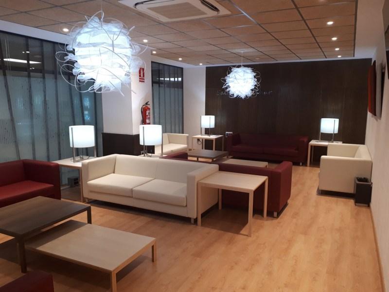 La remozada sala Vip de San Pablo /Aeropuerto de Sevilla