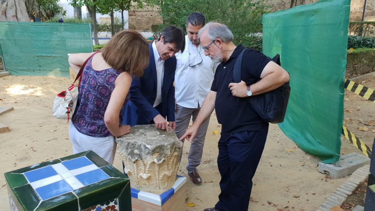 Supervisión de la restauración de los Jardines de Murillo /Ayto. Sevilla