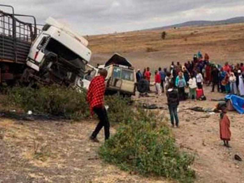 Accidente Tanzania /SA