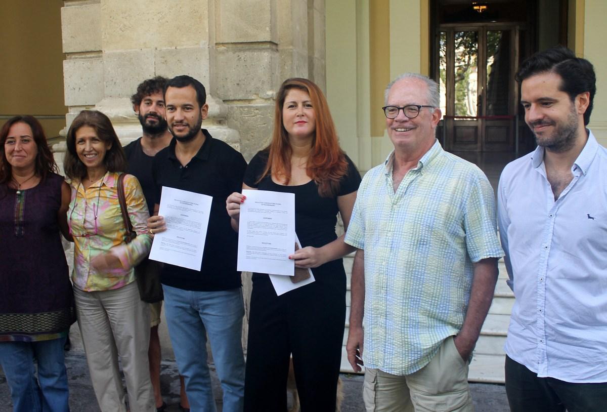 Petición conjunta de un Pleno extraordinario por el arbolado /Participa Sevilla