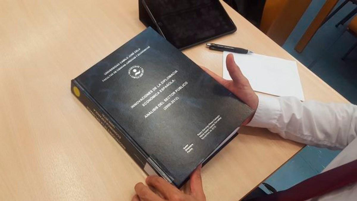 Tesis doctoral de Pedro Sánchez /SA