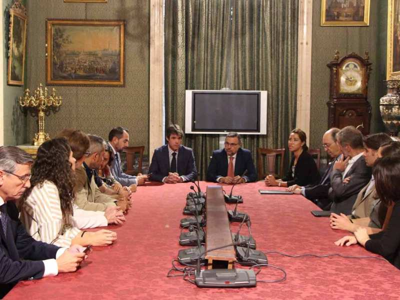 Reunión para la planificación del evento / Ayuntamiento de Sevilla