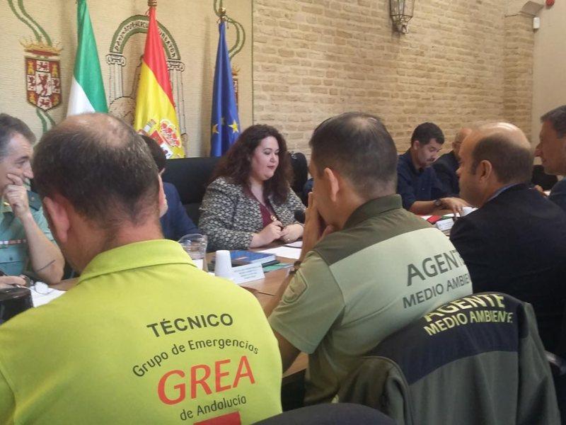 Reunión acontecida / Delegación del Gobierno de la Junta en Sevilla