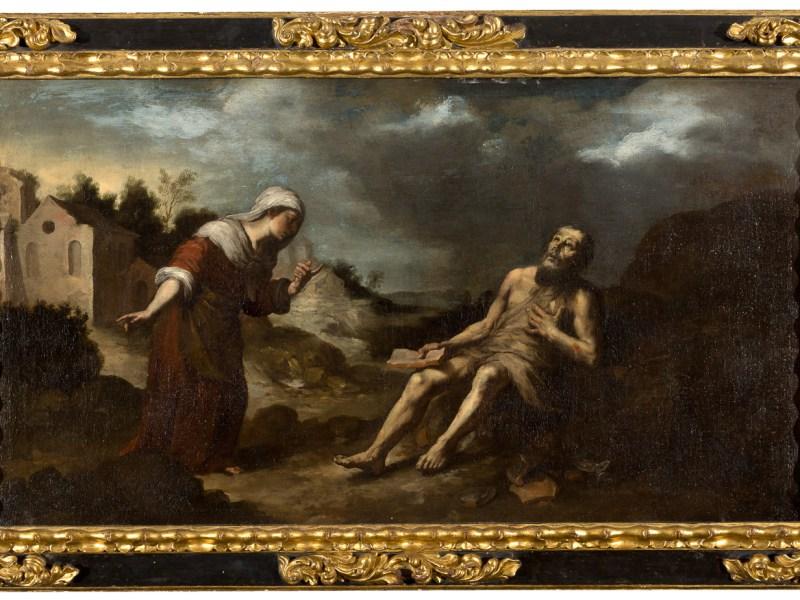 'La paciencia del Santo Job' de Murillo /Isbilya