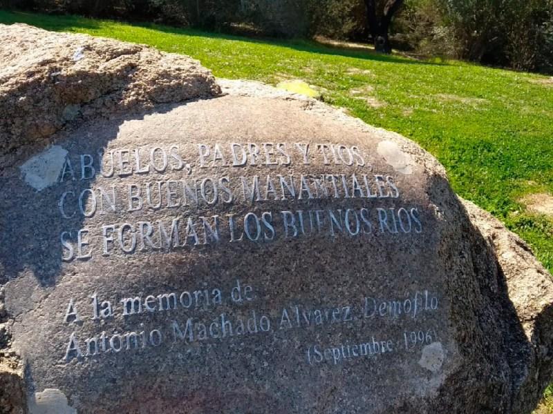 Jardín de la Poesía Flamenca, Camino de Demofilo / Junta de Andalucía