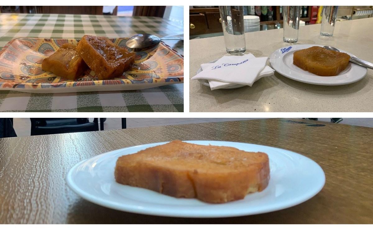 torrijas en Sevilla