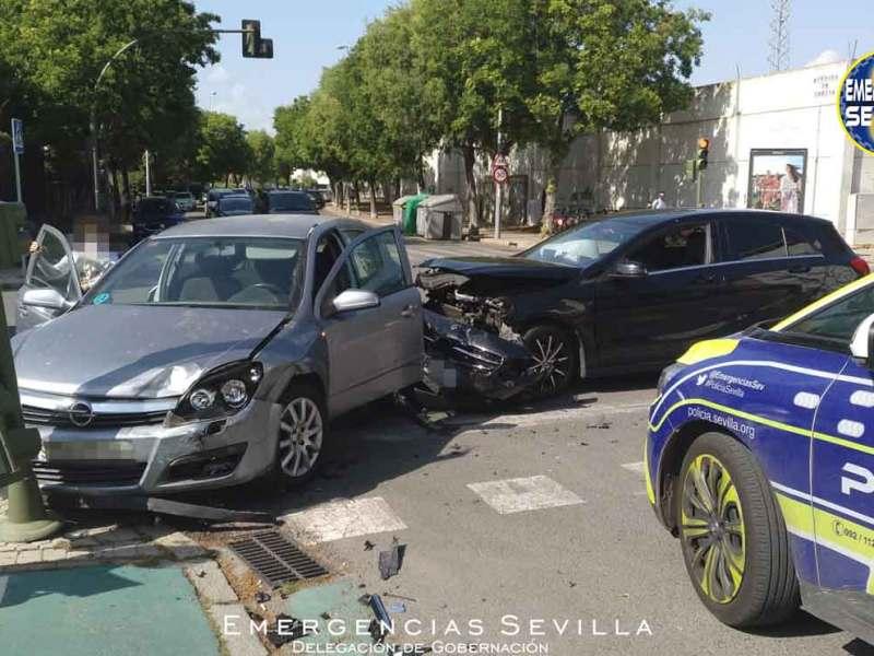 Accidente Ciudad Deportiva del Betis