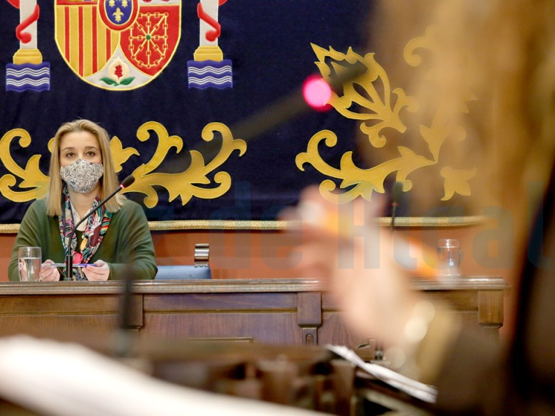 alcaldesa ana isabel jiménez pleno