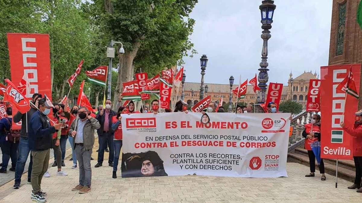 Protesta CCOO