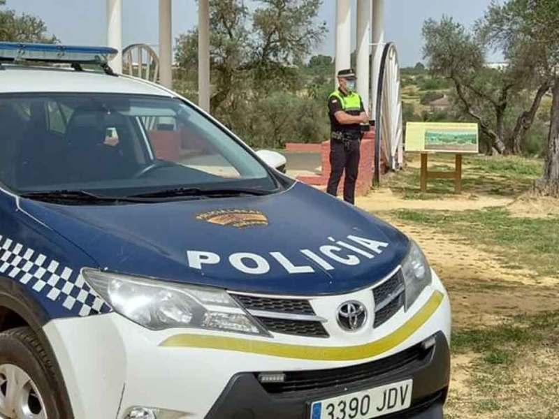 Policía tomares