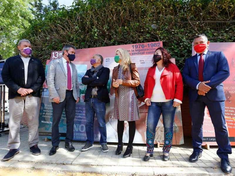Sevilla dedica un paseo de Triana al histórico líder sindicalista de UGT Nicolás Redondo Urbieta