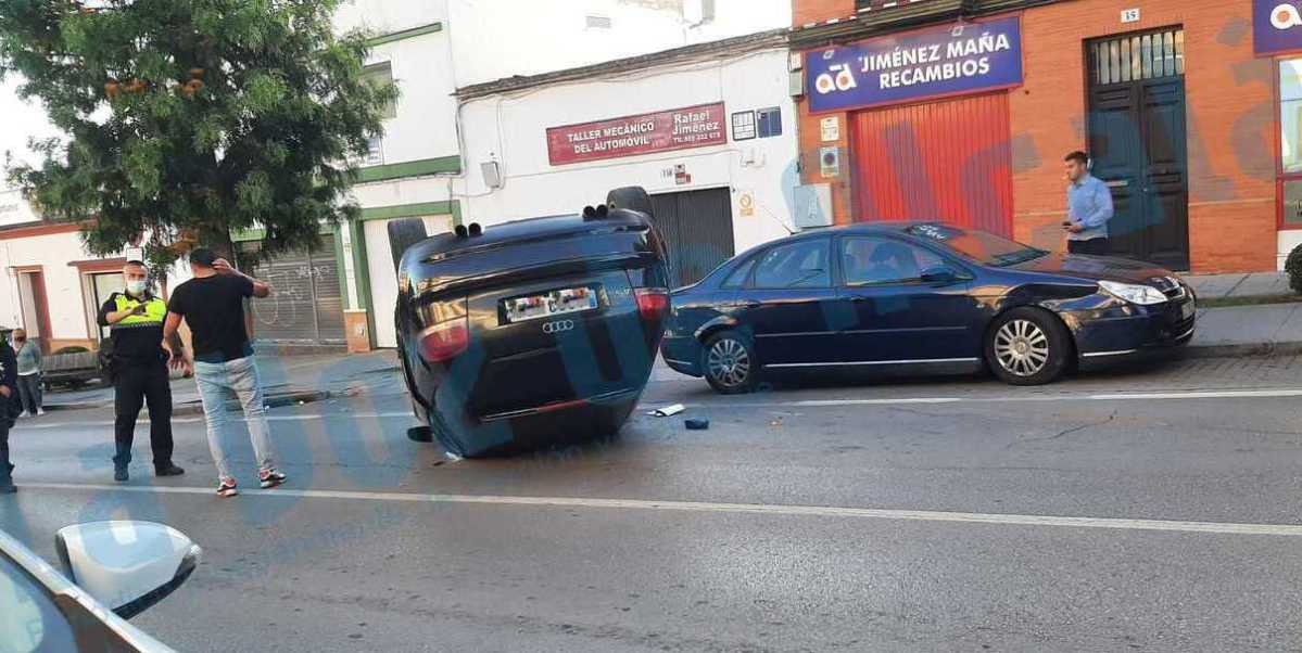 Accidente en la calle Bailén / Lva