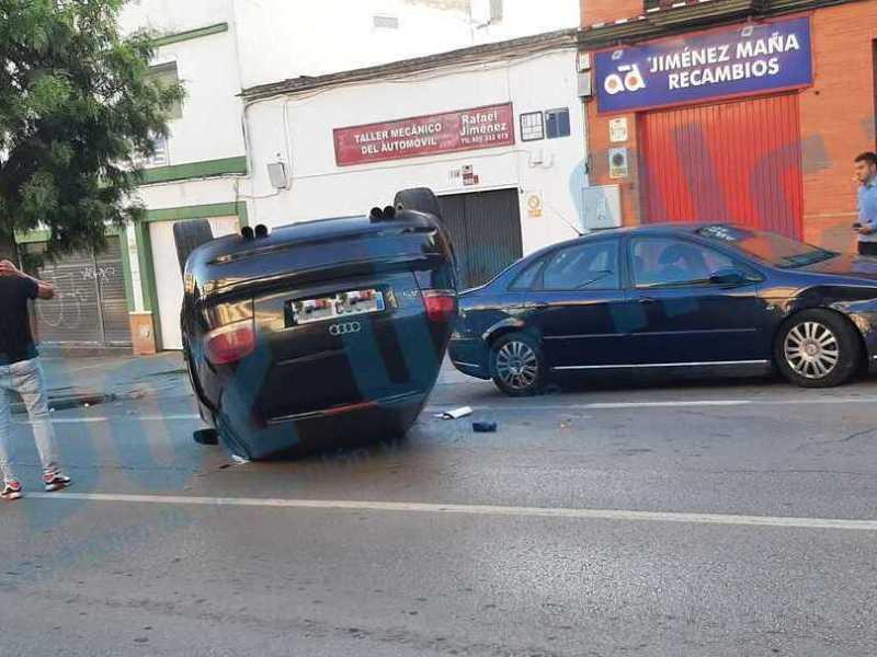 Accidente en la calle Bailén / Lva