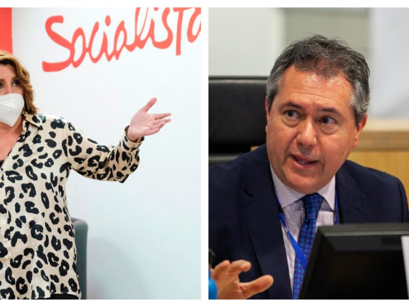 Susana Díaz y Juan Espadas
