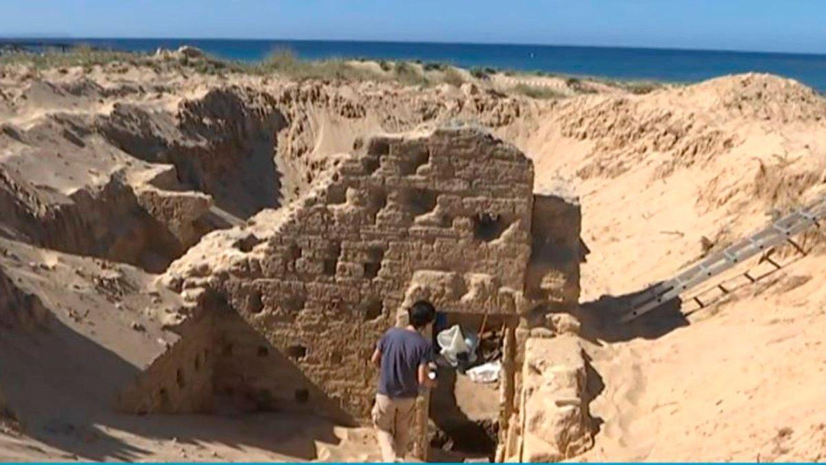 Termas Romanas halladas en Caños de Meca