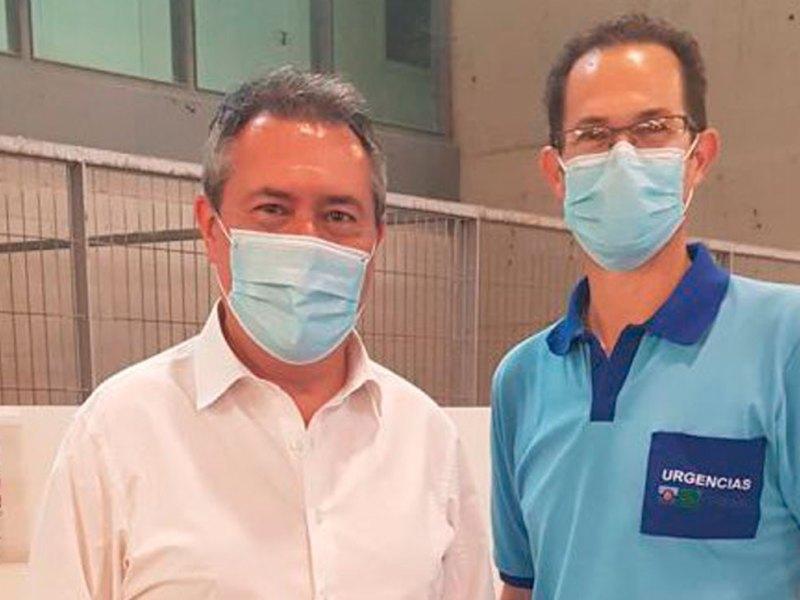 Juan Espadas tras la vacuna contra el COVID